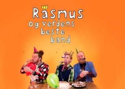 Bilde av Rasmus og verdens Beste Band som feirer bursdag